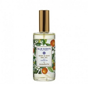 Blue Scents Body & Hair Dry Oil Mandarin