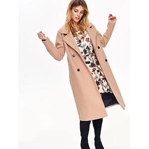 top secret γυναικειο midi παλτο