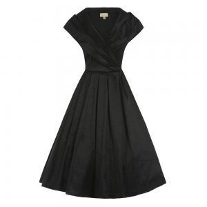 vintage φόρεμα chic taffeta
