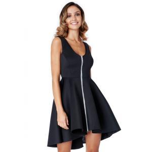 Φόρεμα μίντι κλος αμάνικο