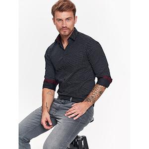 a9e8456de515 TOP SECRET πουκαμισο με print