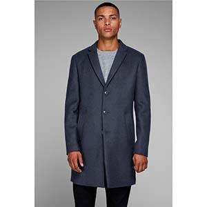 JACK & JONES ανδρικό παλτό wool blend