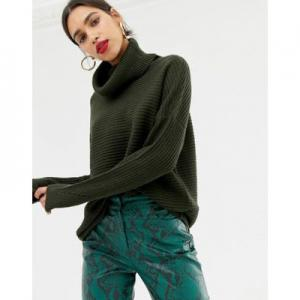 Vero Moda Ribbed Roll Neck Jumper