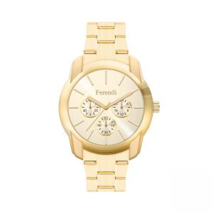 Ferendi Urban Lover Gold Stainless Steel Bracelet