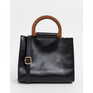 My Accessories London black grab bag