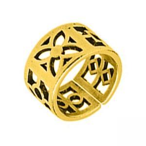 Δαχτυλίδι Από Ορείχαλκο Επιχρυσωμένο
