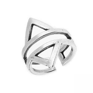 Δαχτυλίδι Από Ορείχαλκο Επαργυρωμένο