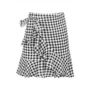 Καρό mini φούστα