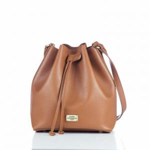 ΤΣΑΝΤΑ ΩΜΟΥ POUCH BAG SOFT COGNAC EA