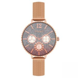 FERENDI Splendid Rose Gold Metal Strap