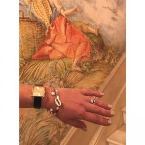 Δαχτυλίδι Από Ορείχαλκο Επιχρυσωμένο 24Κ Με Κοχύλι