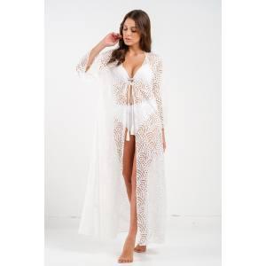 PENKY Maxi white robe Ella