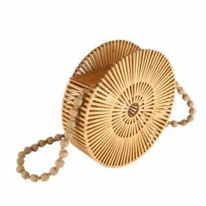 Ξύλινη Τσάντα Ώμου Bamboo