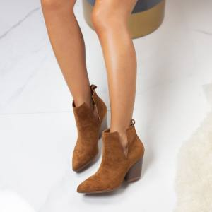 Parvati ankle boots taba