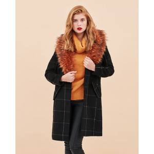 VILA Foxia wool coat