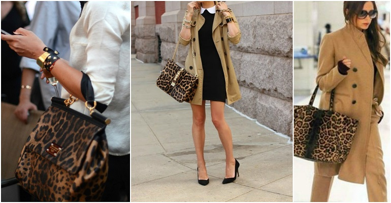 What to Wear with a Animal Print Handbag