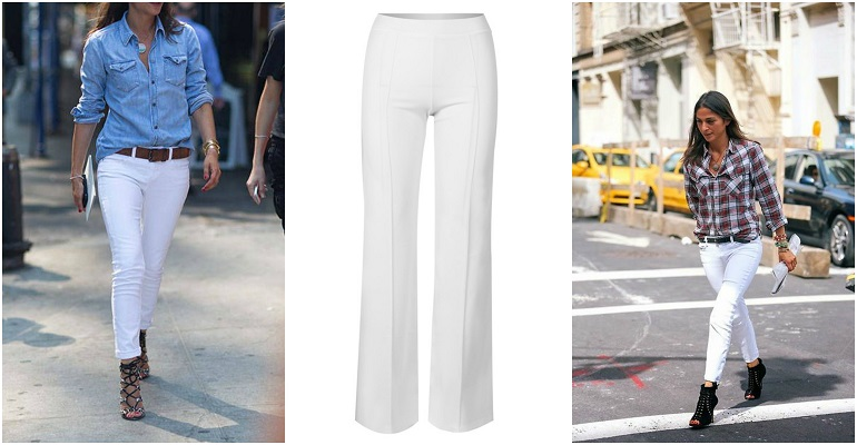 ccbb82354b9 Πώς φοράμε τα λευκά παντελόνια μας; | Glafkis Dolce Vita