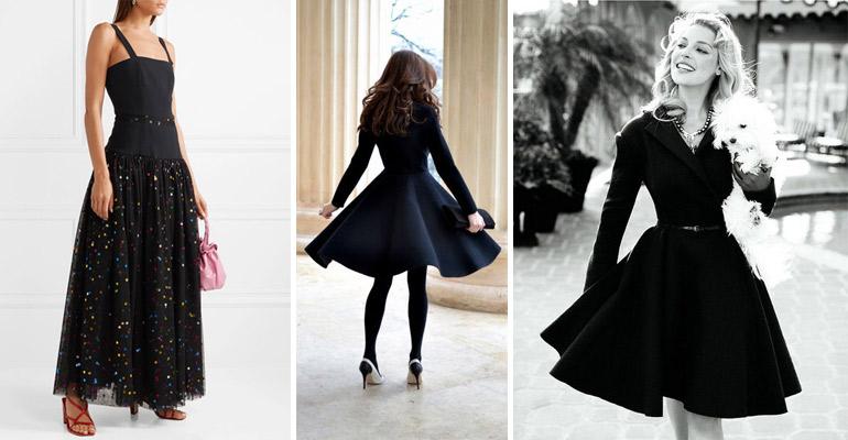 876e6d17ea0 Μαύρα φορέματα για το ρεβεγιόν | Glafkis Dolce Vita