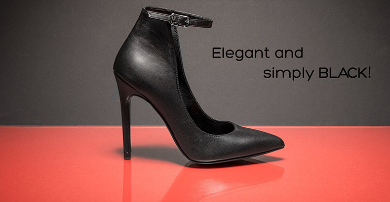 Elegant and simply BLACK!